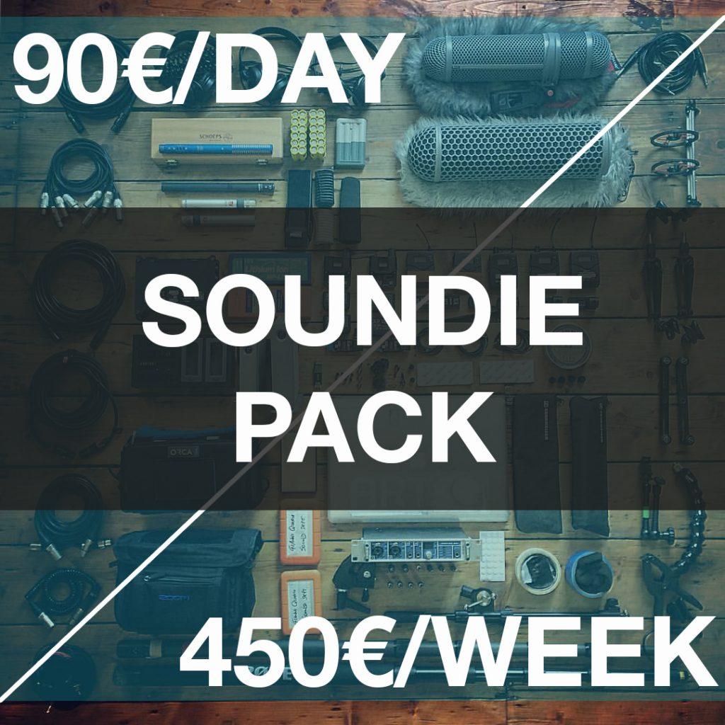 Alquiler de equipo de sonido directo para audiovisuales en Barcelona, Catalunya.